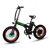 """20 """" 타이어 250W Foldable 전기 자전거"""