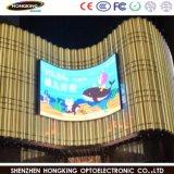 50% en moyenne de l'énergie Saveing 130W/m2 SMD P10 écran LED de plein air