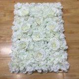 Parede de flores artificiais de Seda Hortênsia e Rose