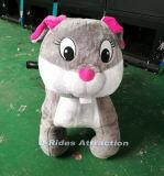 Tamanho grande viagem de rato cinzento animal plush