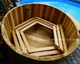 Tina caliente vendedora superior del BALNEARIO del cedro de madera de las tinas a partir de 20 años de fabricante