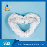 Fio girado de Texitle do fio de matéria têxtil da fibra de Yizheng anel branco cru (60/2 de 60/3)