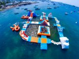Inflable de mejor venta Aqua Park/Parque acuático flotante inflables inflables juegos de agua