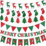 Gevoelde Bal van uitstekende kwaliteit van Kerstmis de Decoratie