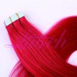 Peruanische Jungfrau Remy brasilianisches Haar-Band in der Haar-Extension