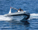 Liya 5.8m aufblasbares Boot mit Motor-steifer Rippe