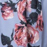 Nuovo floreale superiore casuale della camicetta allentata del manicotto di Short della fuori-Spalla delle signore