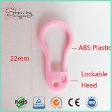 Pin de seguridad plástico de la dimensión de una variable del bulbo de la herramienta del ganchillo