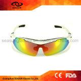 Le PC de la jeunesse arme d'anti lunettes de soleil UV détachables de sports de lentille d'enduit pour le base-ball courant de recyclage de volleyball