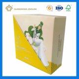 Het Vakje van de Verpakking van de Zeep van het Document van Cardbaord van de bovenkant en van de Bodem