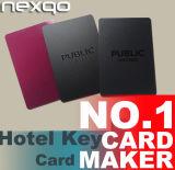 Hotel, das Systems-kompatible kundenspezifische gedruckte Hotel-Schlüsselkarte sperrt