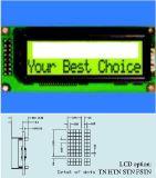 バックライトStce16203が付いている16 x 2性格タイプLCDのモジュール