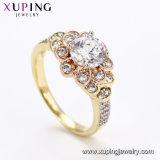 15157 Form elegante zwei - Steinfarben-Frauen-Schmucksache-Finger-Ring mit grossem Zircon