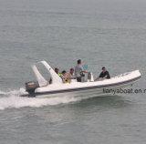 Liya 6.2m Rippen-aufblasbarer Boot Hypalon Rippen-Boots-Yacht-Verkauf