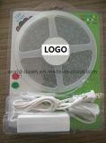 Streifen-Licht der Sichtpackungs-5m der Bandspule-LED (Installationssatz der Blase SMD3528-60)