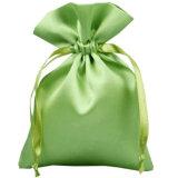 Цветастый мешок Drawstring ювелирных изделий хранения ткани пятна подарка