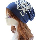 女性の冬の綿の帽子の帽子の薄いヒップホップのだらしないだぶだぶの帽子