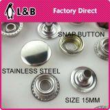 Классика 4 металла части кнопки щелчковой крепежной детали