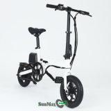 Batería de litio personal del transportador plegable la bicicleta eléctrica 12inch