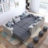 Nueva llegada L sofá de la tela de la dimensión de una variable para los muebles caseros (S889)