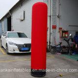 Novo Design grande pilar insufláveis tubo para publicidade de promoção de eventos