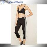 Pantaloni alla moda adatti all'ingrosso di cuoio sexy di yoga di Legging Dri