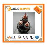 O PVC de cobre do condutor isolou o cabo de controle flexível Sheathed PVC protegido trança