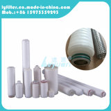 Cartuccia di filtro pieghettata 20 pollici industriale dalla membrana con l'adattatore 222