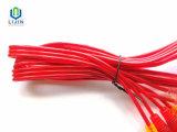 Transparante Kabel 3RCA aan 3RCA Mannetje
