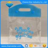 Kundenspezifische Farbe gedruckter transparenter Belüftung-Kosmetik-Beutel