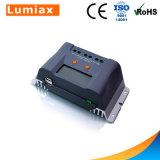 Het ZonneControlemechanisme van de Last van het Systeem van het Huis PWM 30A LCD 12V 24V