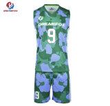 Commerce de gros Custom SUBLIMATION Maillot de basket-ball réversible fabriqués en Chine