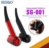 Seegoは強力な2600mAh電池が付いているバージョンSg001 Eのタバコをアップグレードした