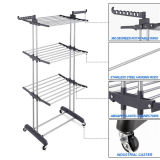 Top Sale 3 Layer Iron Tube Clothes Drying Rack (Jp-Cr300W)