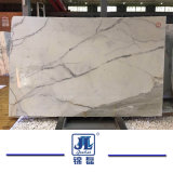 Calacatta Polished 백색 대리석 돌 싱크대를 위한 또는 설계하는 또는 Vanitytop 또는 호텔 디자인 석판 벽 클래딩 건물