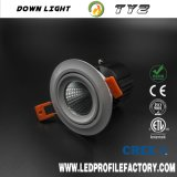 Ty2 de Klem 20W LEIDENE van de Van uitstekende kwaliteit Lente van Downlight Trimless Downlight voor Downlight in China