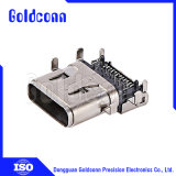 USBのコネクター2.0 Af PCBのための90度の逆のすくいのタイプ
