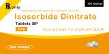 Le dinitrate d'isosorbure de médecine de Westren marque sur tablette 5mg Westren Pharma pour l'être humain