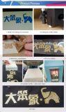 Le coréen de la qualité élastique Trump Glitter métallique vinyle d'impression de transfert de chaleur