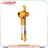 Una gru Chain elettrica industriale da 5 tonnellate con il carrello