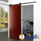El interior de alta calidad Diseño de la puerta corrediza de hierro forjado de Hardware de la puerta del granero
