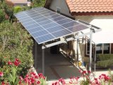 태양 에너지 해결책이 2.7kw 지원 램프에 의하여 냉장고와 팬 집으로 돌아온다