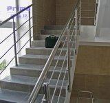 Diseño sólido del pasamano del acero inoxidable de SS304 Rod para las escaleras del balcón