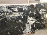 China poetste Kosmisch Zwart Graniet voor Muur/Vloer/Countertop op