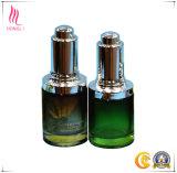 Formas diferentes de botellas de aceite esencial de vidrio