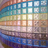 Ясность или покрашенный стеклянный блок для Wall/CCC