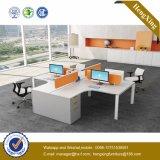 Hölzerne Arbeitsplatz-Büro-Partition 4 Sitz$288 (HX-NJ5090)
