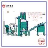 malaxeur d'asphalte de la protection de l'environnement 80t/H (LB1000) du mélangeur 1000kg