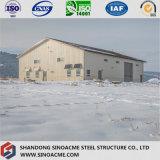 Edificio de la estructura de acero del Largo-Palmo para el taller