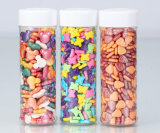 음식 급료 과자 또는 사탕 PS/Pet/PP 플라스틱 단지